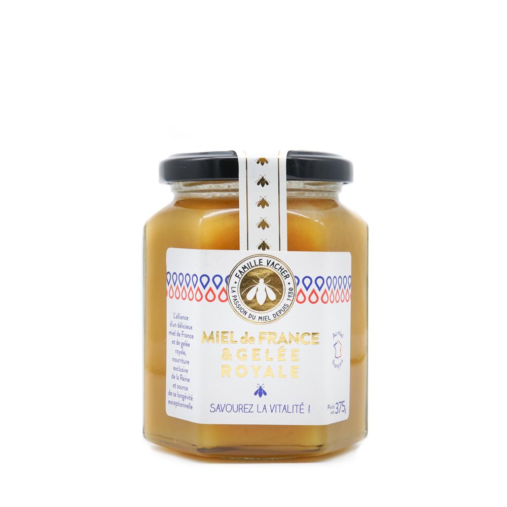 Préparation de miel de France & gelée royale 375g