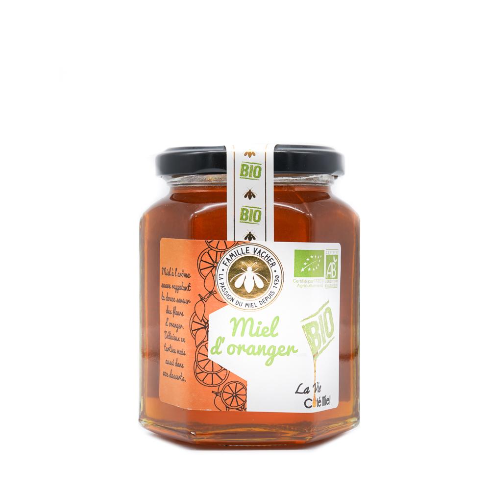 Miel d'oranger bio 375g