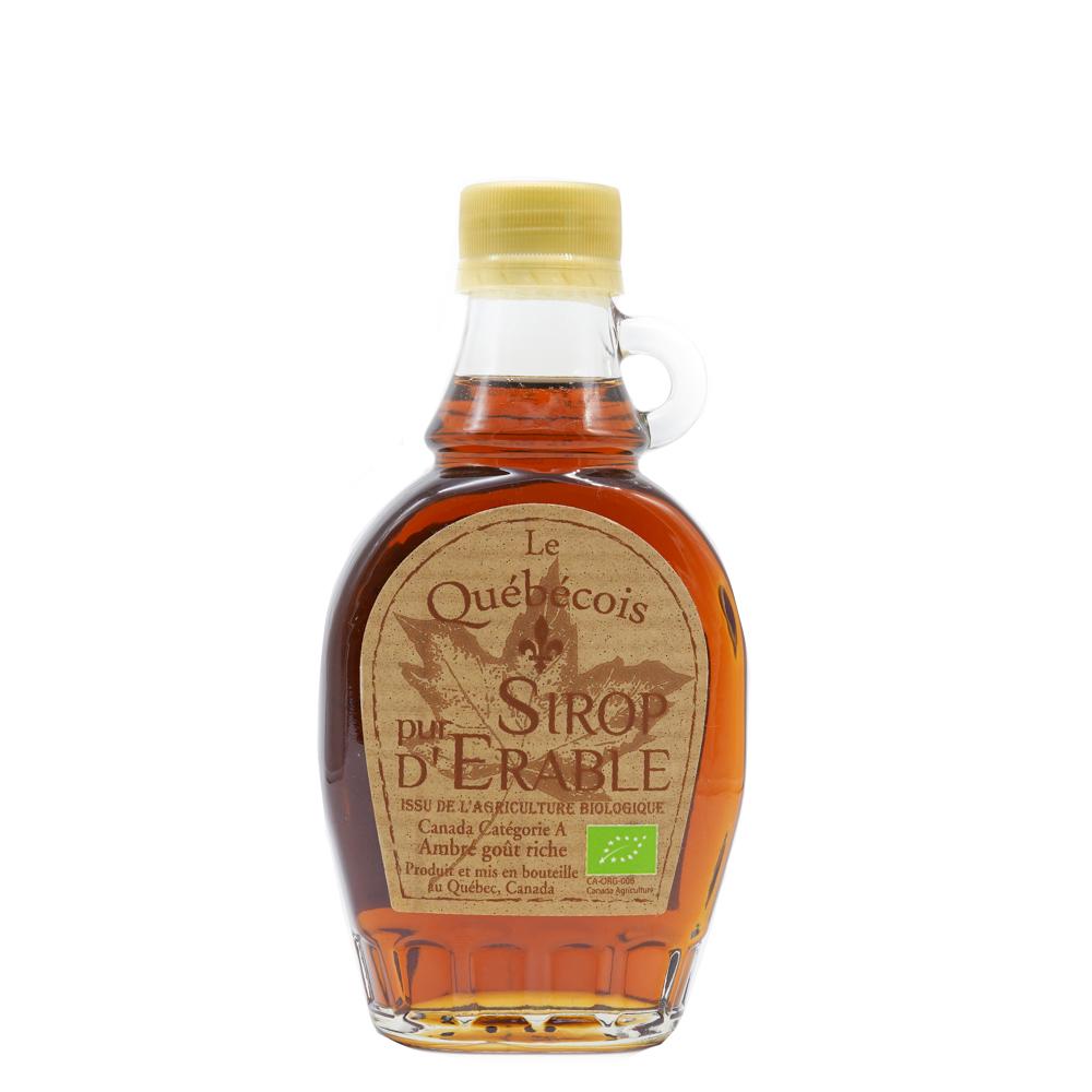 Sirop d'érable bio 189 ml