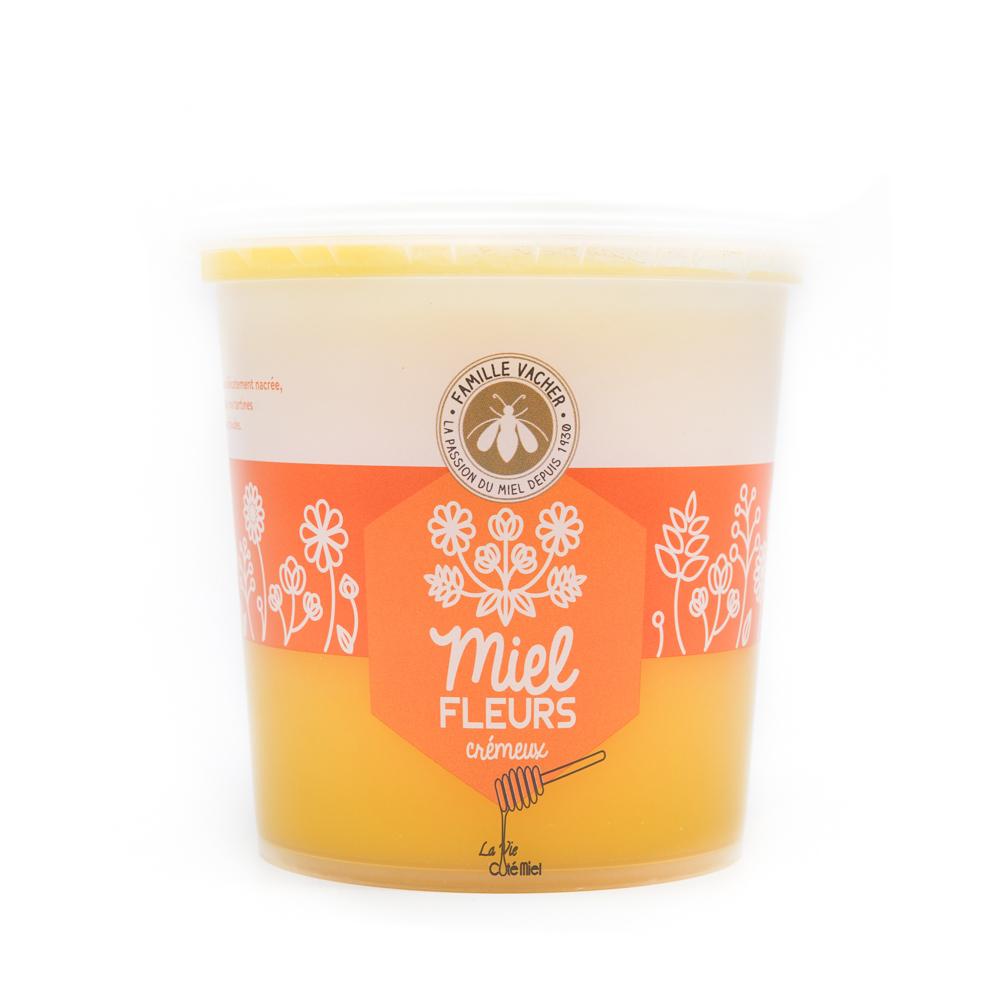 Miel de fleurs crémeux 500g / 1kg