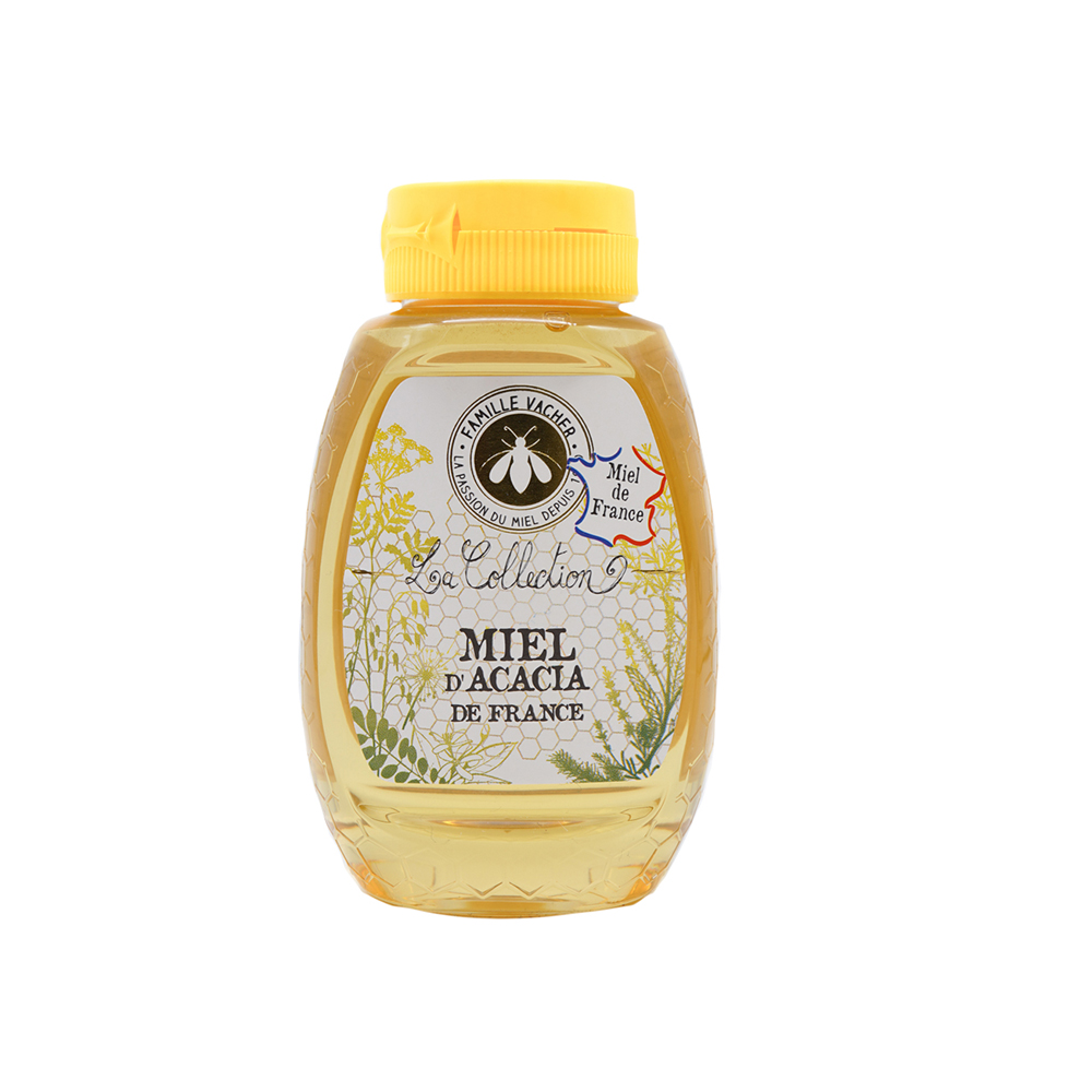 Miel d'acacia de France squeezer 250g