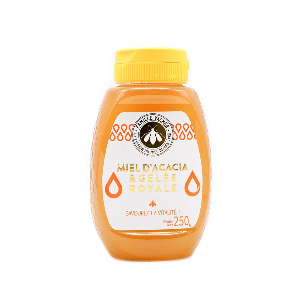 Préparation de miel d'acacia & gelée royale squeezer 250g
