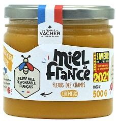 Miel de France crémeux FILIERE 500g - Pot végétal
